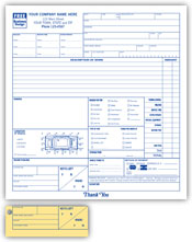 Auto Repair Towing Invoice 8.5 x 11 (sku: 100002)