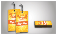 Full Color Product Hang Tags (sku: 911)
