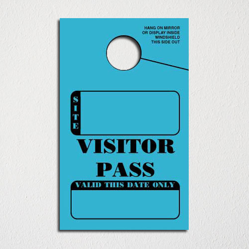 Custom Quote for IN STOCK Non-Personalized Campground Visitor Pass